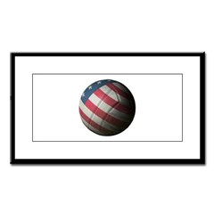 USA Volleyball Small Framed Print