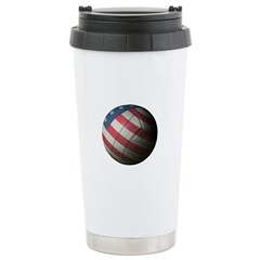 USA Volleyball Stainless Steel Travel Mug