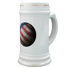 USA Volleyball Stein