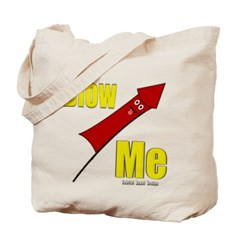 Blow Me Canvas Tote Bag
