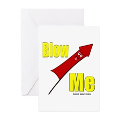 Blow Me Greeting Cards (Pk of 20)