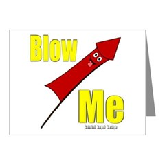Blow Me Note Cards (Pk of 10)