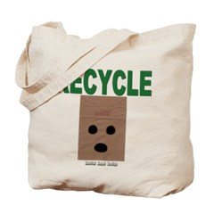 Recycle Paper Bags Canvas Tote Bag