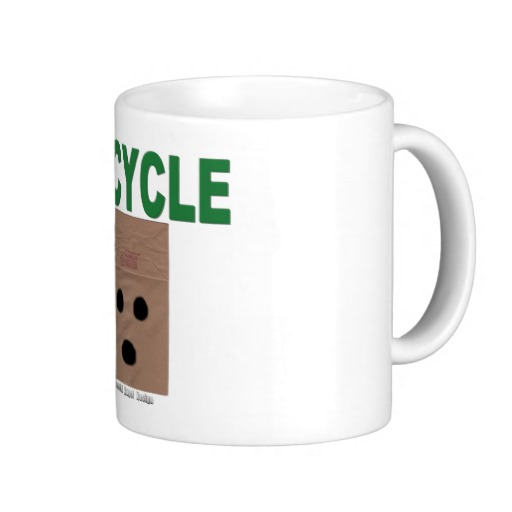 Recycle Paper Bags Classic White Mug