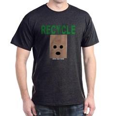 Recycle Paper Bags Dark T-shirt