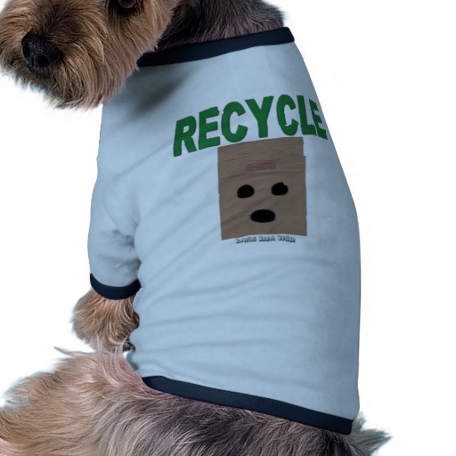 Recycle Paper Bags Doggie Ringer T-Shirt