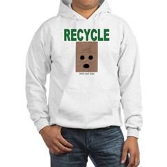 Recycle Paper Bags Hooded Sweatshirt