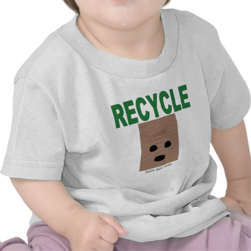 Recycle Paper Bags Infant T-Shirt