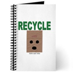 Recycle Paper Bags Journal