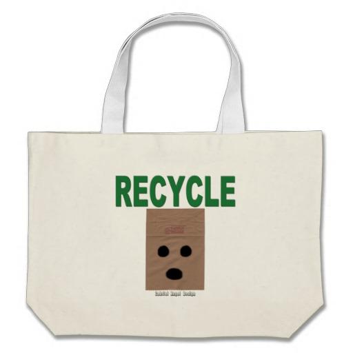 Recycle Paper Bags Jumbo Tote
