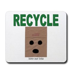 Recycle Paper Bags Mousepad