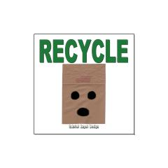 Recycle Paper Bags Posters