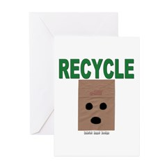 Recycle Paper Greeting Cards (Pk of 20)