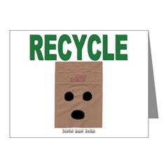 Recycle Paper Note Cards (Pk of 20)