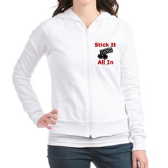Stick it All In Junior Zip Hoodie