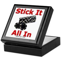 Stick it All in Keepsake Box