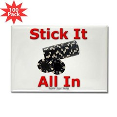 Stick it All in Rectangle Magnet (100 pack)