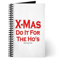 X-Mas Do it for the Ho's Journal
