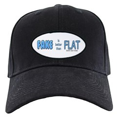 Fake is Better Than Flat Baseball Hat