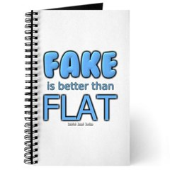 Fake is Better Than Flat Journal