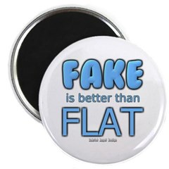 Fake is Better Than Flat Magnet