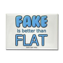 Fake is Better Than Flat Rectangle Magnet