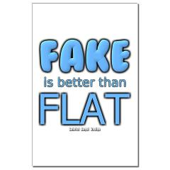 Fake is Better Than Flat Posters