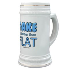 Fake is Better Than Flat Stein