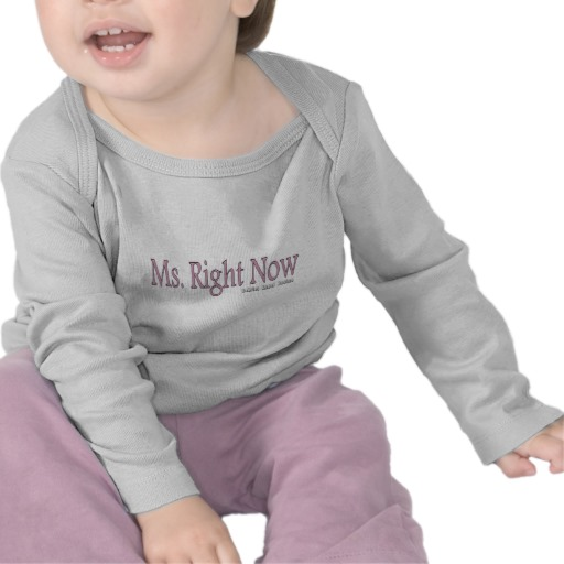 Ms. Right Now Infant Bella Long Sleeve T-Shirt