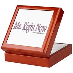 Ms. Right Now Keepsake Box