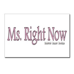 Ms. Right Now Postcards (Package of 8)