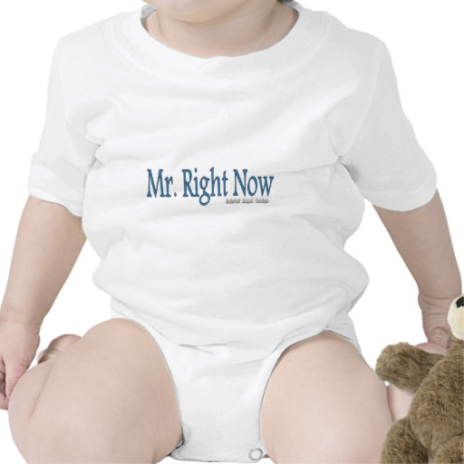 Mr. Right Now Infant Creeper