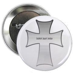 "Silver Cross 2.25"" Button"
