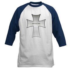 Silver Cross Baseball Jersey