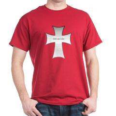 Silver Cross Dark T-Shirt