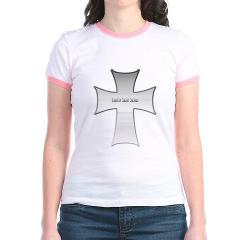 Silver Cross Jr. Ringer T-Shirt