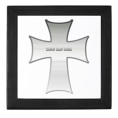 Silver Cross Keepsake Box