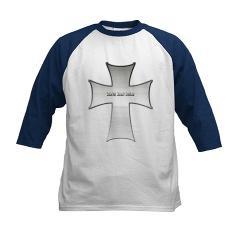 Silver Cross Kids Baseball Jersey