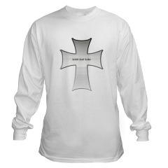 Silver Cross Long Sleeve T-Shirt