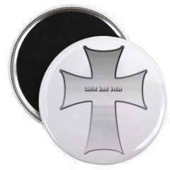 Silver Cross Magnet