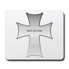 Silver Cross Mousepad
