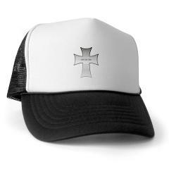 Silver Cross Trucker Hat