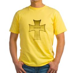 Silver Cross Yellow T-Shirt