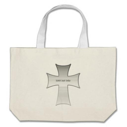Silver Crucifix Bags