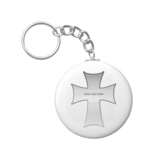 Silver Crucifix Keychains