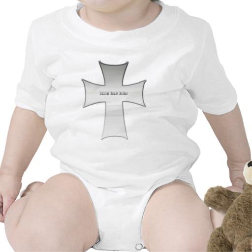 Silver Crucifix Tees