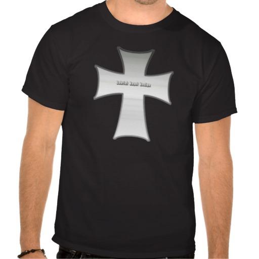 Silver Crucifix Tshirt