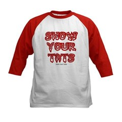 Show Your Tats Kids Baseball Jersey T-Shirt