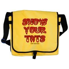 Show Your Tats Messenger Bag