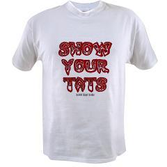 Show Your Tats Value T-shirt